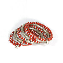 Stretchable Beaded Bangle - NIIRVA - 1