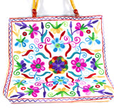 Embroidered Tote Bag - NIIRVA - 7