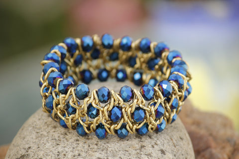 Glass Bead Bracelet - NIIRVA - 1