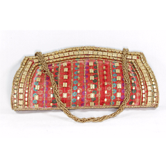 Clutch Purse with Sequins - NIIRVA - 1