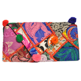 Embroidered Clutch Bag - NIIRVA - 1