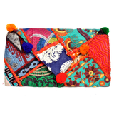 Embroidered Clutch Bag - NIIRVA - 4