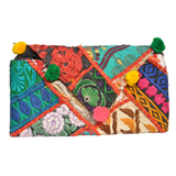 Embroidered Clutch Bag - NIIRVA - 5
