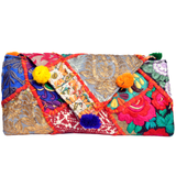 Embroidered Clutch Bag - NIIRVA - 8