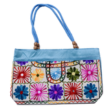 Embroidered Small Tote Bag - NIIRVA - 9