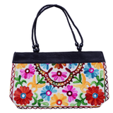 Embroidered Small Tote Bag - NIIRVA - 3