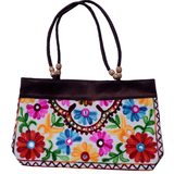 Embroidered Small Tote Bag - NIIRVA - 4
