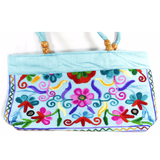 Embroidered Small Tote Bag - NIIRVA - 5