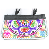 Embroidered Small Tote Bag - NIIRVA - 6