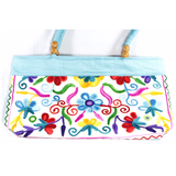 Embroidered Small Tote Bag - NIIRVA - 8