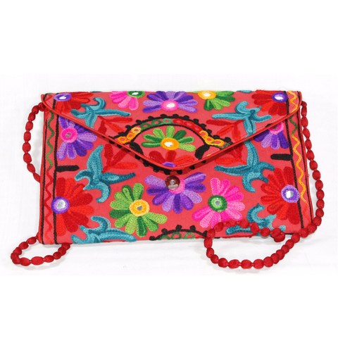 Floral Clutch Bag - NIIRVA - 1