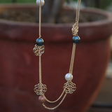 Pearl Chain Necklace - NIIRVA
