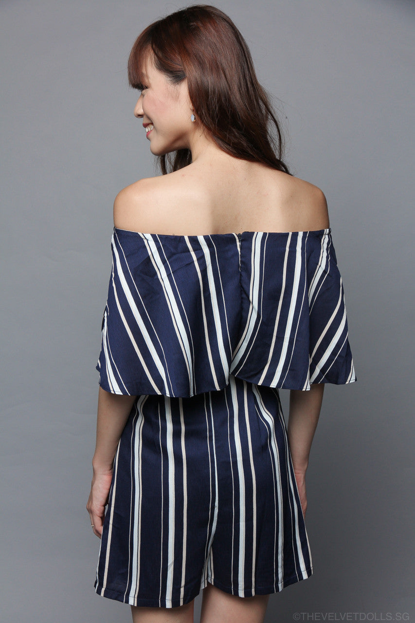 Wanda Off-Shoulder Playsuit