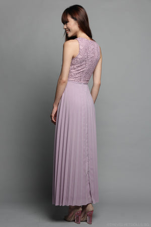 Summer Romance Maxi in Dusty Lilac
