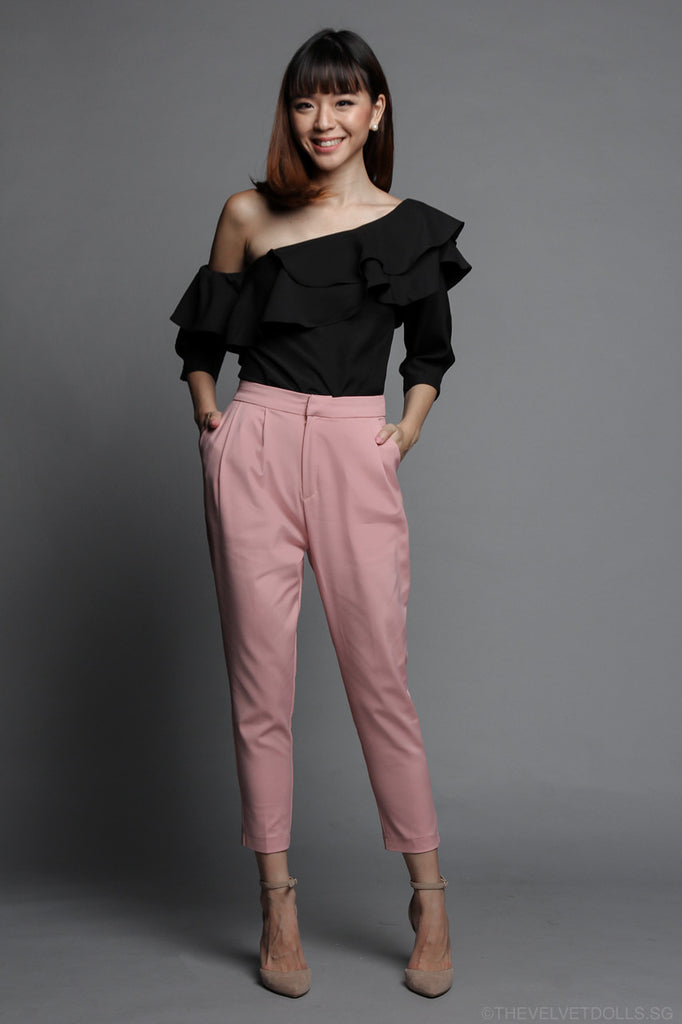 Sheila Tailored Pants in Pink