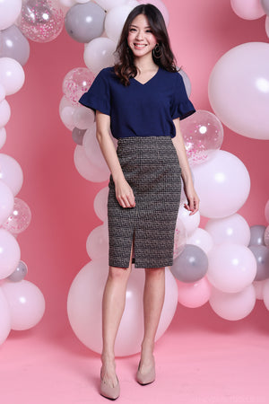 Center Stage Pencil Skirt