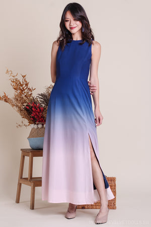 Ombre Skies Maxi Dress