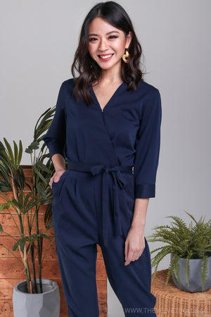 Kipling Utility Jumpsuit in Navy