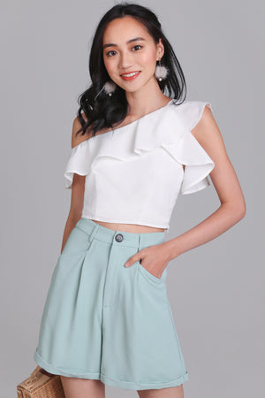 Restocked* Lindsey Toga Top in White