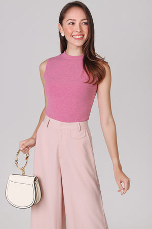Manhattan Business Pants in Nude Pink