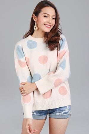 Connect The Dots Knit Sweater