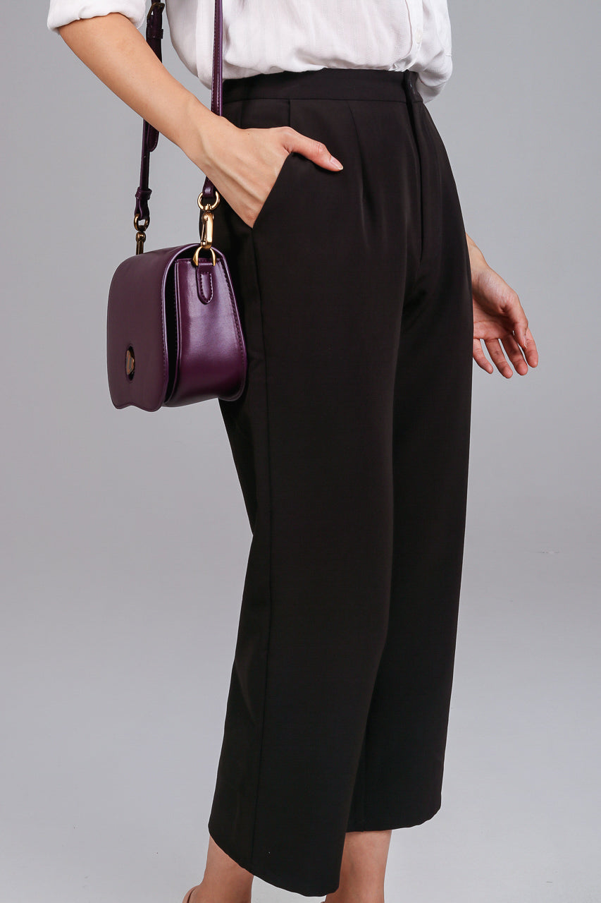 Focal Length Culottes in Black