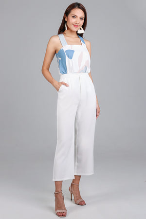 Focal Length Culottes in White