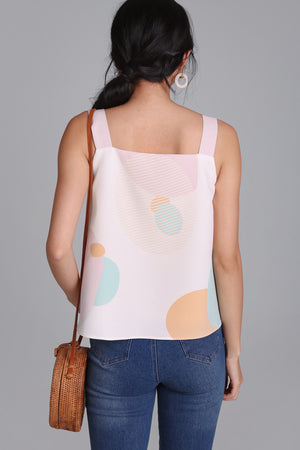 Space & Time 2-Way Top in Pink