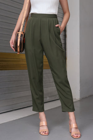 Winona Resort Pants in Green
