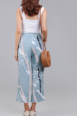 Restocked* Jubilee Graphic Culottes in Jade