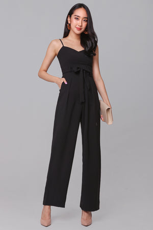Restocked* Tall Order Jumpsuit in Black