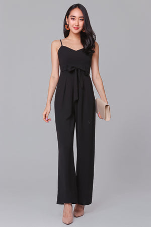 Tall Order Jumpsuit in Black