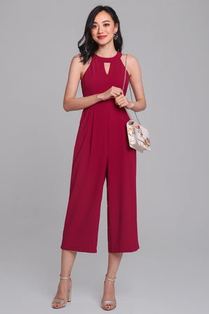 Classic Finesse Jumpsuit in Rose