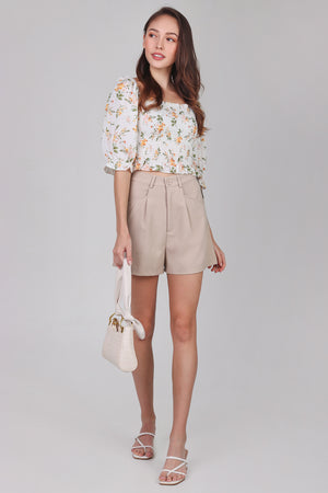 Backorder* Chelsea Tailored Shorts in Khaki