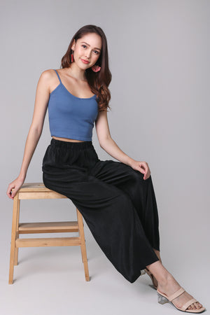 Restocked* Padded Cami Top in Blue