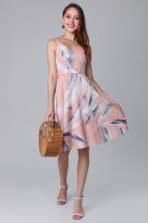 Hopes & Dreams Dress in Apricot (2-Way)