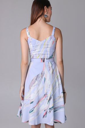 Hopes & Dreams Dress in Lilac Sky (2-Way)