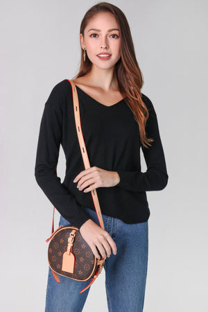 Soft Knit Pullover in Black