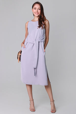 Easy Go Midi Dress in Lilac