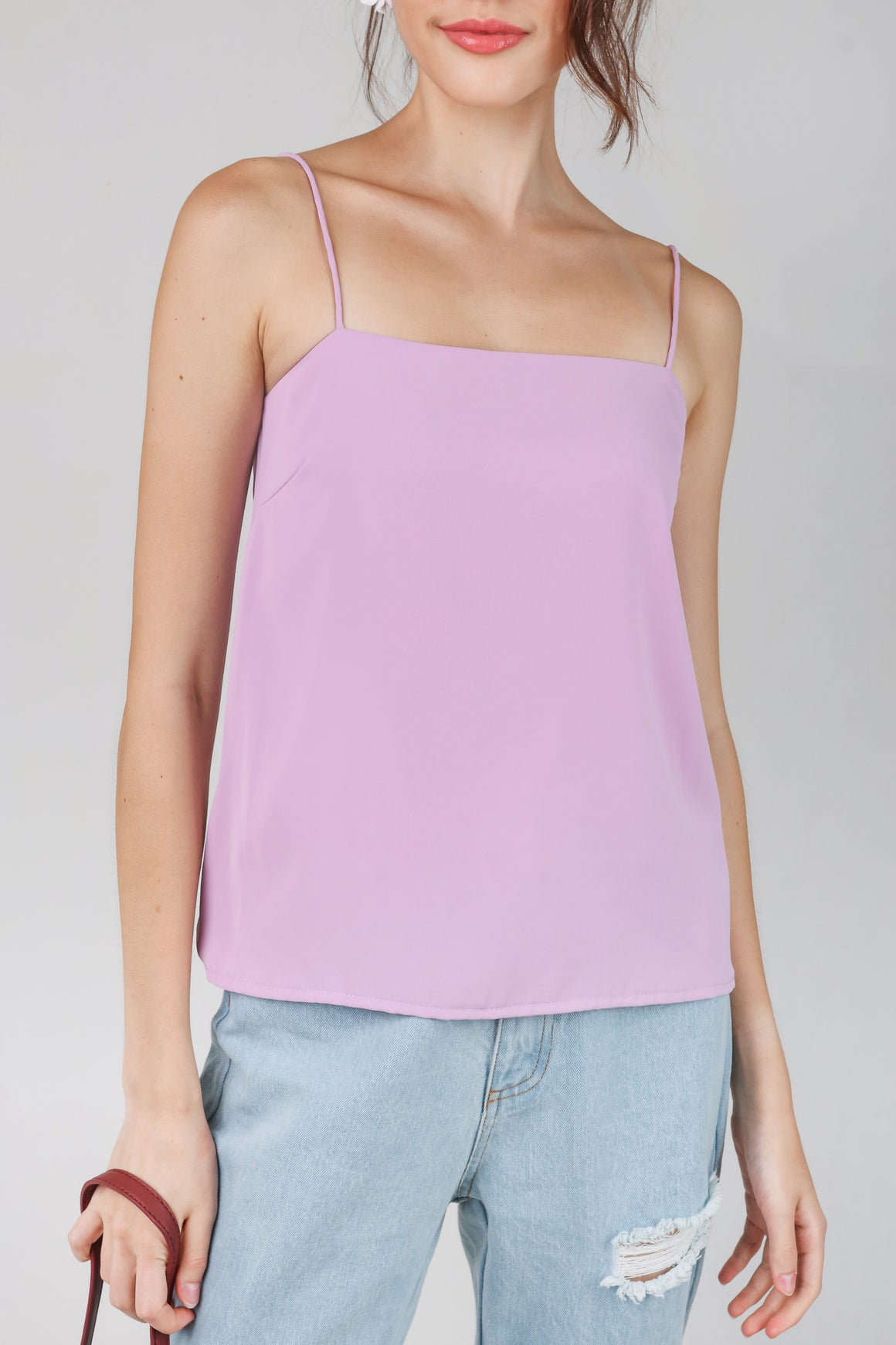 Suzette Spag Cami in Lilac