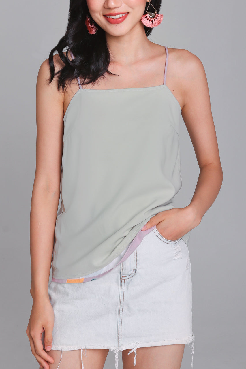 Restocked* Child's Play Cami in Mauve (Reversible)