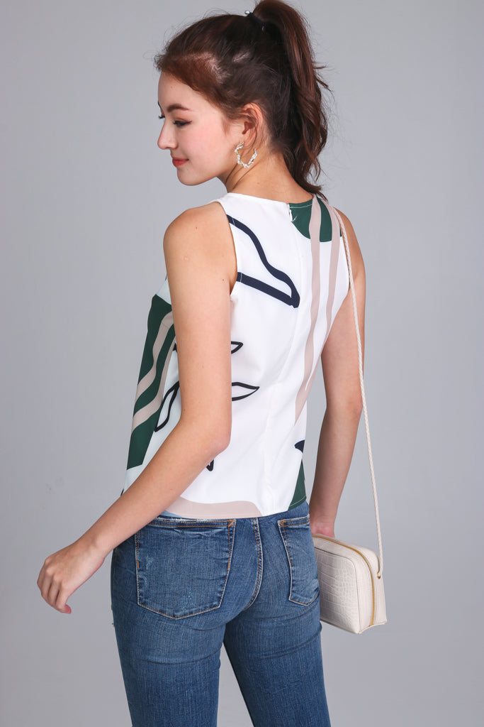 Changing Seasons Tank in White