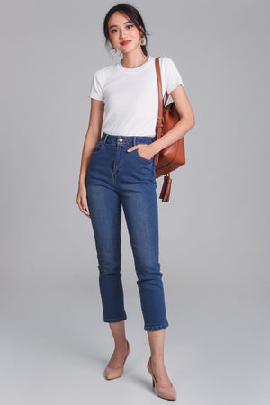 Tommie Straight-Cut Jeans in Dark
