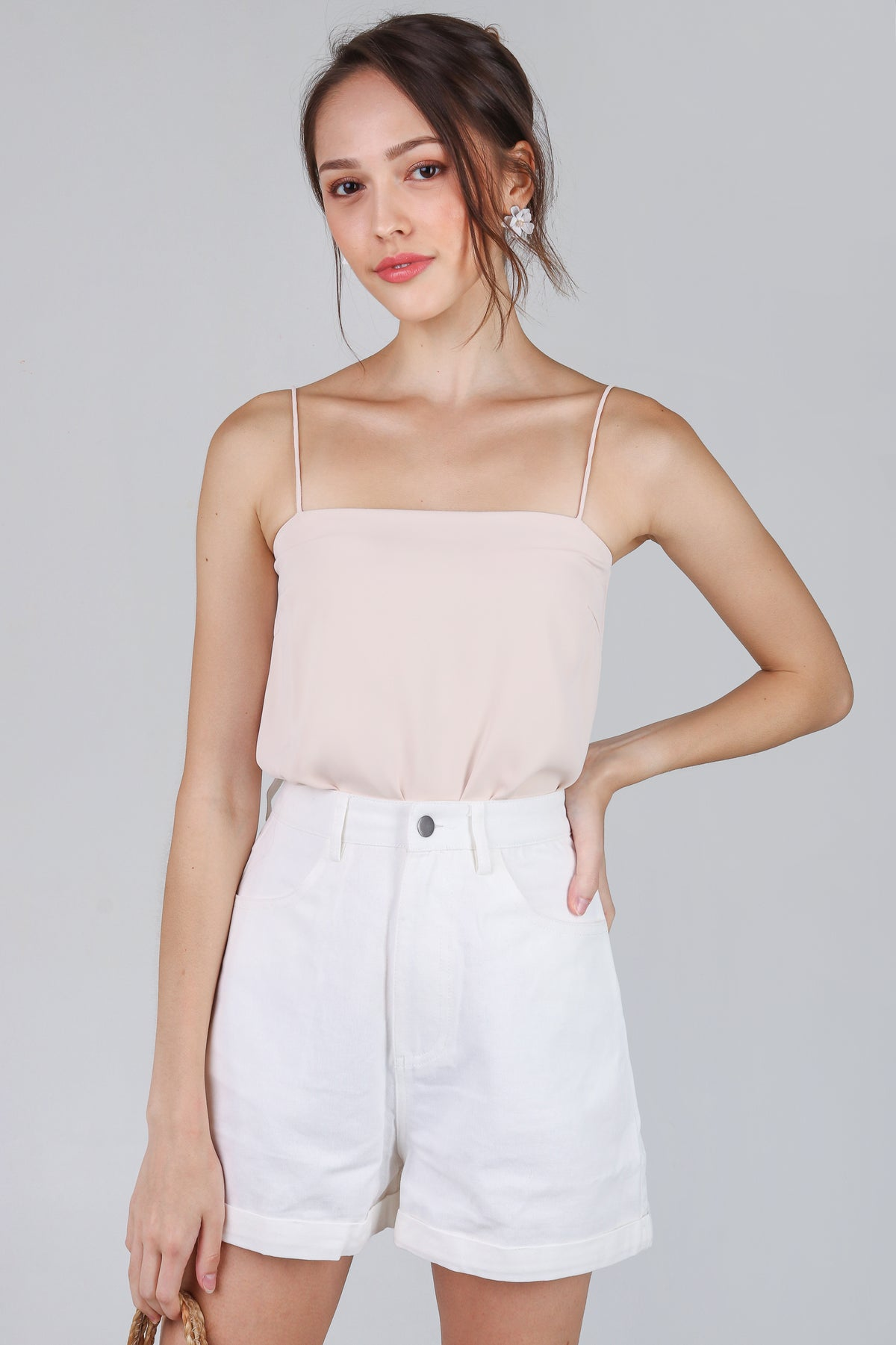 Suzette Spag Cami in Cream