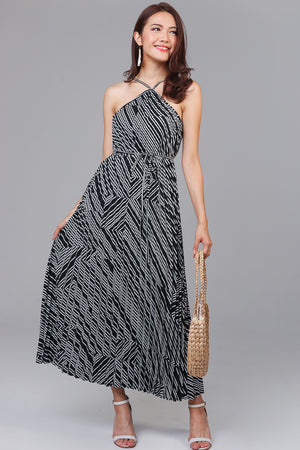 Swing Around Two-Way Maxi Dress