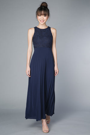 Restocked** Summer Romance Maxi in Navy
