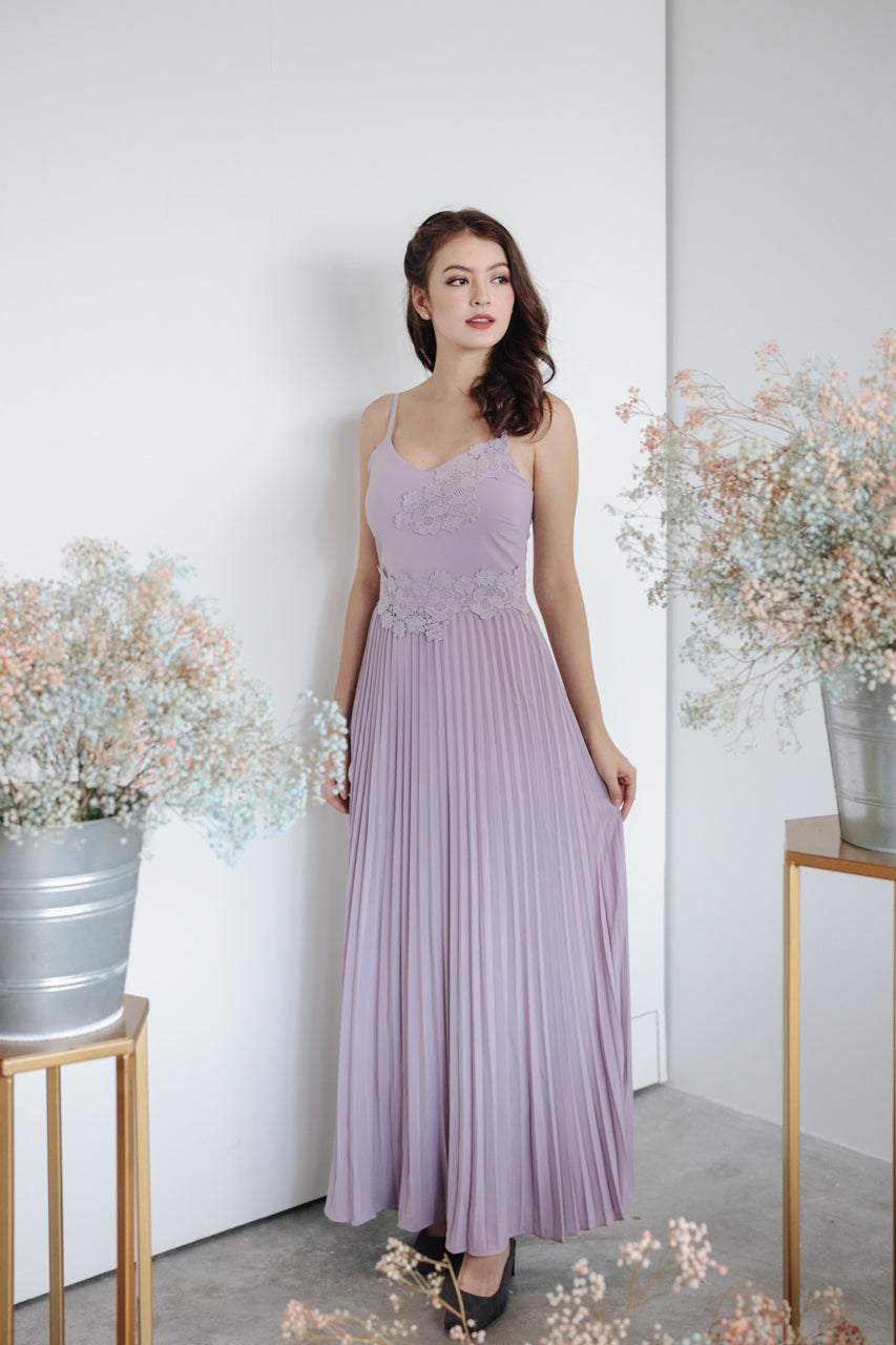 Spring In The Air Maxi in Lilac