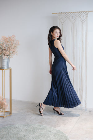 Summer Romance Maxi in Navy