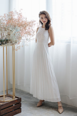 Summer Romance Maxi in White