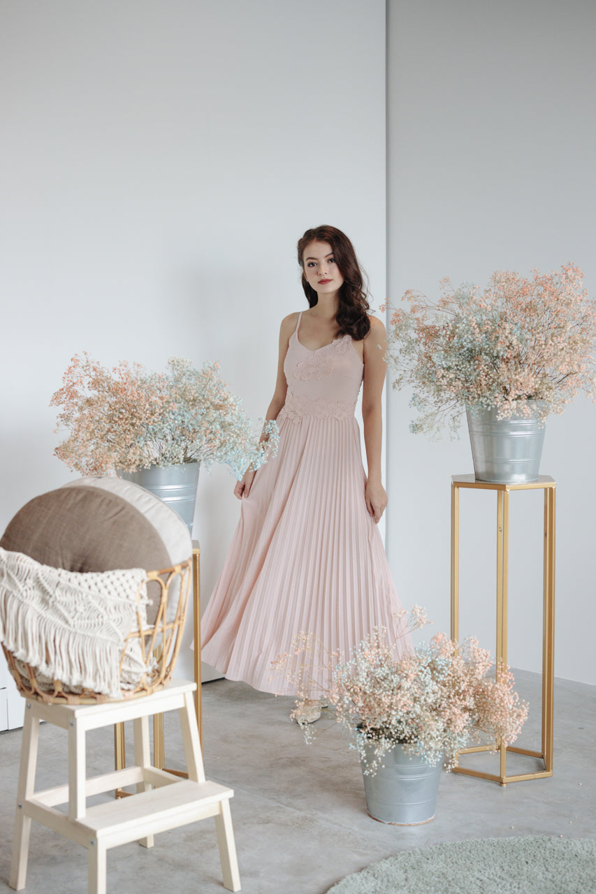 Spring In The Air Maxi in Pink